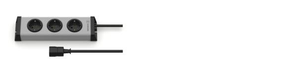 Universal Steckdosenleiste 3-fach IEC 320