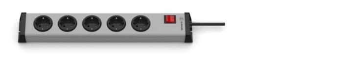 Universal Steckdosenleiste 5-fach mit Schalter