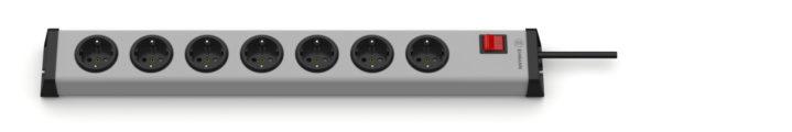 Universal Steckdosenleiste 7-fach mit Schalter