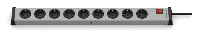 Universal Steckdosenleiste 9-fach mit Schalter
