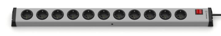 Universal Steckdosenleiste 11-fach mit Schalter
