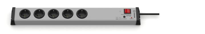Überspannungsschutz Netzfilter Steckdosenleiste 5-fach mit Schalter
