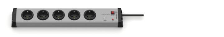 Zeitschaltautomatik Steckdosenleiste 5-fach 1,5-12 Stunden