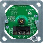 LED Unterputz-Dimmer T39.07.01 mit Befestigungsrahmen