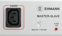 Master-Slave Steckdosenleiste 6+1+1-fach für IEC-Anschluss