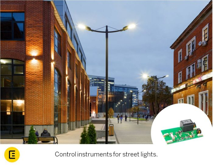 street lights control instrument