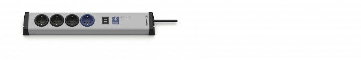 Master-Slave PRO Steckdosenleiste 4-fach + USB