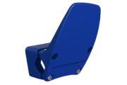 Hands-free door opener in blue
